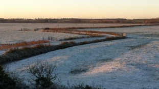 Frost in Cantley