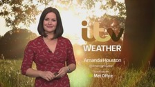 A bright and breezy weekend with rain for some on Sunday