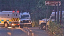 Bomb experts at security alert at Colin Glen Forest Park