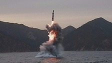 North Korea 'test-fires ballistic missile'