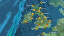 Weather: Dry with warm sunny spells