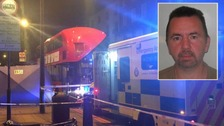 Man stabbed to death on London bus named