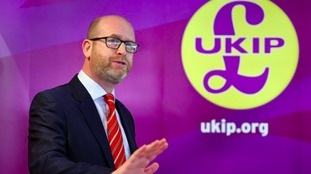 UKIP leader Paul Nuttall reveals he will contest Boston and Skegness seat in June's General Election
