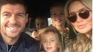 Steven with his wife Alex and their daughters