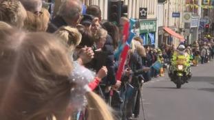 Malton crowds