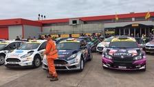 Pirelli rally roars into Carlisle