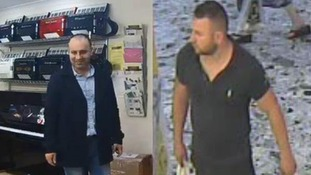 Accordion shop burglaries: Detectives release CCTV images