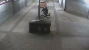 This man was also caught on CCTV