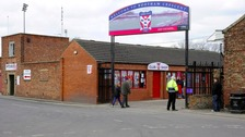 York City's Bootham Crescent home ground.
