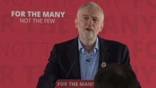 Corbyn urges young people to 'claim your future'