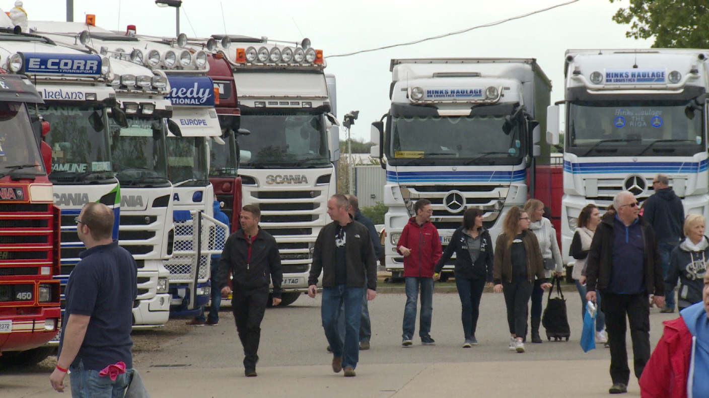 peterborough prepares for truckfest 2017 itv news. Black Bedroom Furniture Sets. Home Design Ideas