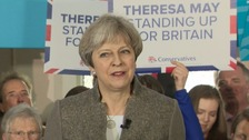 PM urges Scots to 'strengthen union' with vote for Tories
