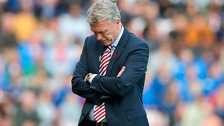 Sunderland relegated from the Premier League after 10 consecutive seasons