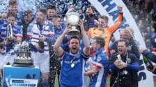 Linfield crowned Irish League champions