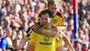 Premier League match report: Crystal Palace 0-2 Burnley