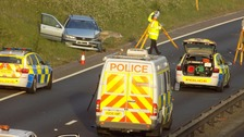 Fatal crash closes M27 and A31 near Ringwood