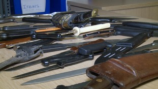Knife amnesty to begin across Cambridgeshire