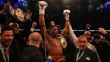 Joshua beats Klitschko in world heavyweight clash