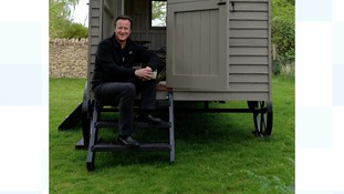 David Cameron's fight with son for £25,000 shepherd's hut