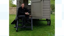 David Cameron's £25,000 shed will be 'writing den'