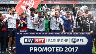 Bolton secure promotion to the Championship