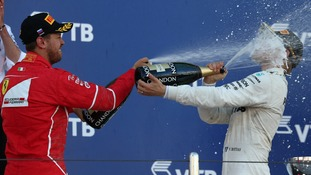 Bottas claims first GP victory in Russia