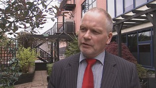 Trevor Ringland said he is concerned about the message.