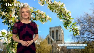 Sunday's forecast for the North East