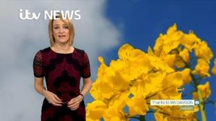 Sunday's forecast for Cumbria and Scottish Borders