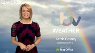 Sunday's weather update with Kerrie