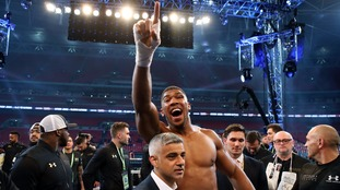 Joshua eyes up next fight which will be 'better than Klitschko win'