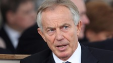 Blair on being 'hated' as be prepares for politics return