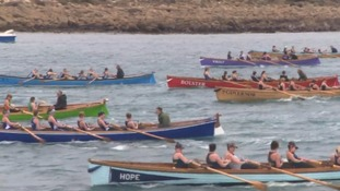 Thousands attend World rowing championships on the Isles of Scilly