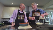 Falklands veteran Simon Weston joins Adrian on tonight's Welsh Bites