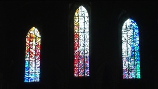 Hexham Abbey gets new stained glass window