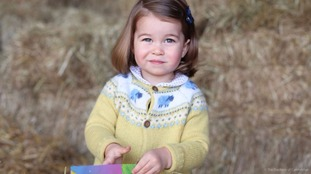 New picture of Princess Charlotte released to mark her second birthday