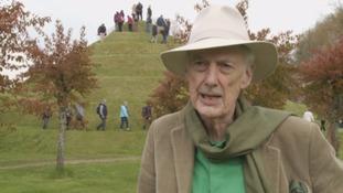 Landscape artist and architect Charles Jencks