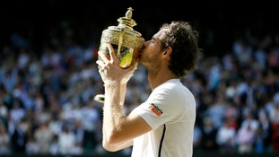 Andy Murray winning in 2016