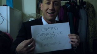 The X Factor sign from Christopher Maloney.