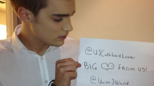 The X Factor Sign from Union J.