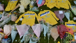 Tributes to Ben left at his club