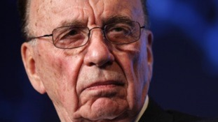 Rupert Murdoch said he was sorry to see News International chief executive Tom Mockridge leave