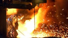 Steel plant file picture