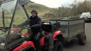 Ullswater farmer and breeder Jean Wilson.