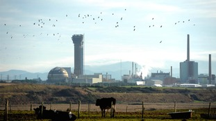 The Sellafield nuclear plant in Cumbria.
