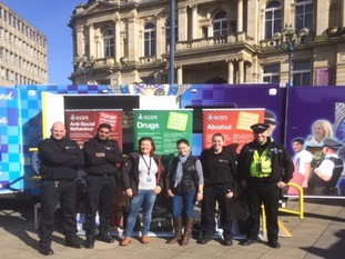 The campaign aimed to tackle CSE, anti-social behaviour and traffic offences in the town