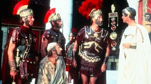 A scene from the film, The Life of Brian, which has been named the greatest comedy film of all time.