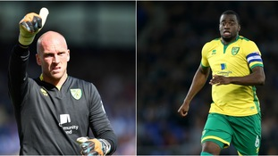 John Ruddy (left) and Sébastien Bassong (right) have both been allowed to leave Norwich.