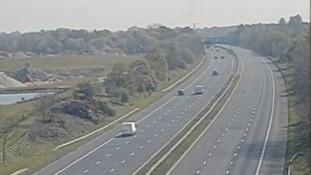 Man dies in serious crash on M55 motorway
