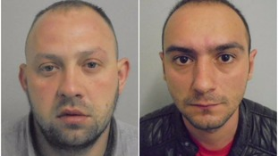 Two men jailed for violent sex attack on teen
